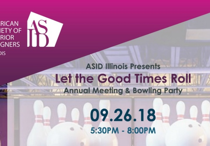 ASID Illinois Annual Meeting & Bowling Party