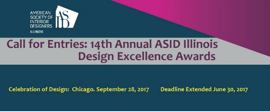 Open for Entries: 14th Annual Design Excellence Awards