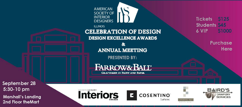 Celebration of Design: Design Excellence Awards & Annual Meeting
