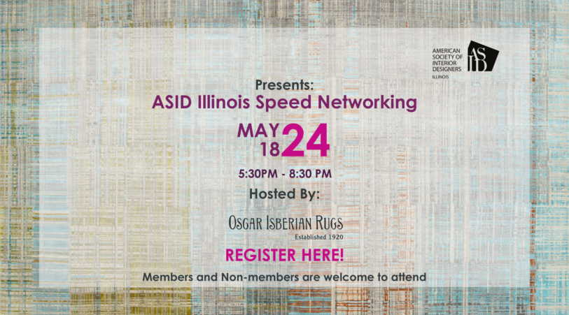 ASID Illinois Speed Networking at Oscar Isberian Rugs